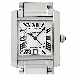 Cartier Tank Francaise W50011S3 Gold 24.0mm Watch