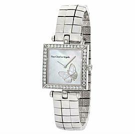 Van Cleef & Arpels Square Papillon HH22989 Gold 25.0mm Women's Watch