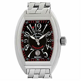 Franck Muller King Conquistador 8005 K S Steel 47.5mm Watch