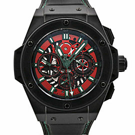 Men's Hublot Big Bang King Power Mexico 48, Skeleton dial, 710.CI.0130.GR.MEX10