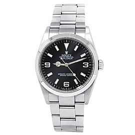 Rolex Explorer Stainless Steel Oyster Automatic Black Men's Watch 114270