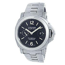 Panerai Luminor Marina Stainless Steel Automatic Black Men's Watch PAM00299
