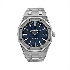 Men's Audemars Piguet Royal Oak Selfwinding 41, Blue dial, 15400ST.OO.1220ST.03