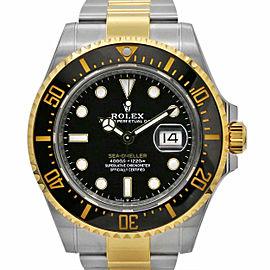 Men's Rolex Sea-Dweller 43, Stainless Steel, 18k Yellow Gold, Black Dial, 126603