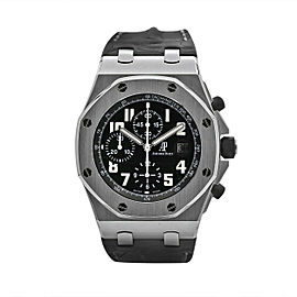 Men's Audemars Piguet Royal Oak Offshore 42, Black Dial, 26170ST.OO.D101CR.03