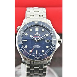 OMEGA SEAMASTER 212.30.41.20.03.001 AUTOMATIC CO AXIAL MENS BLUE LUXURY WATCH