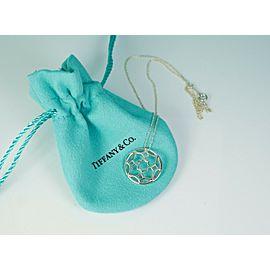 Tiffany & Co. Paloma Picasso Silver Zellige Medallion Pendant Necklace MINT