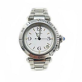 Cartier Pasha W31015M7 Steel 35mm Watch (Certified Authentic & Warranty)