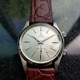 Mens Tudor Advisor ref.7926 34mm Manual Wind w/Alarm, c.1960s Swiss LV890BUR