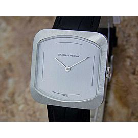 Mens Girard Perregaux 33mm Hand-Wind Dress Watch, c.1970s Swiss Vintage MX55