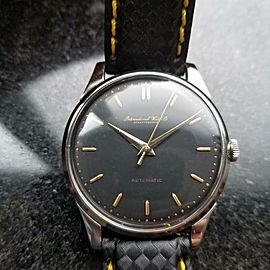 Mens IWC Schaffhausen 35mm Automatic Dress Watch c.1960s Swiss Vintage R785