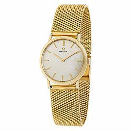 Omega Classic D6649 Gold 28.5mm Women's Watch