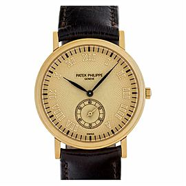 Patek Philippe Calatrava 5022J Gold 33.0mm Watch