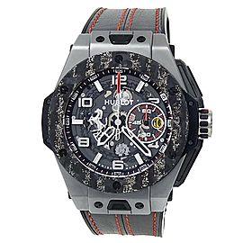 Hublot Big Bang Unico Ferrari Titanium Auto Skeleton Men's Watch 401.NJ.0123.VR