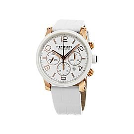 MONTBLANC TIMEWALKER 18K ROSE GOLD 43 mm AUTOMATIC CHRONOGRAPH WATCH 104669 NEW