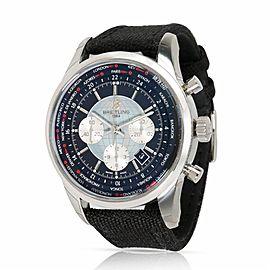 Breitling Transocean AB0510 Steel 46.0mm Watch