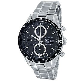 Tag Heuer Carrera Stainless Steel Automatic Black Men's Watch