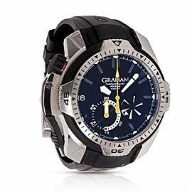 Graham Chronofighter 2CDAV.B0 Steel 45.0mm Watch