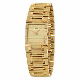 Piaget Dancer 80317 K8 Gold 23.0mm Watch