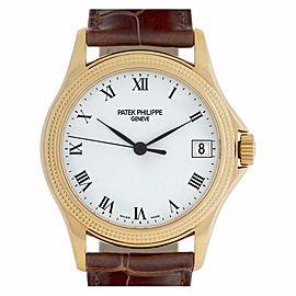 Patek Philippe Calatrava 5117J Gold 37.0mm Watch