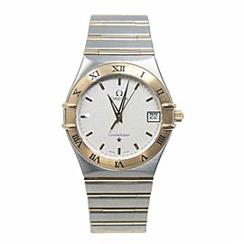 Omega Constellation 1212.30. Two Tone Watch