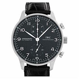 Iwc Portuguese IW371447 Steel 40.0mm Watch