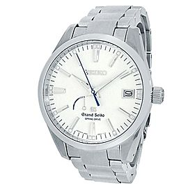 Seiko Grand Seiko Stainless Steel Automatic White Men's Watch 9R65-0BM0