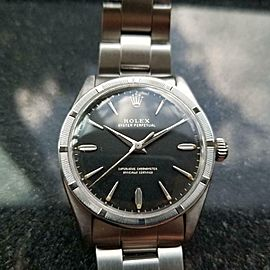Mens Rolex Oyster Perpetual Ref.1007 34mm Automatic, c.1960s Swiss Vintage LV921