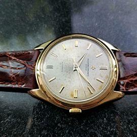 Mens Vacheron Constantin Geneve 18k Gold 36mm 1950s Dress Watch Swiss LV900