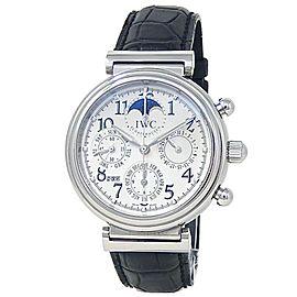 IWC Da Vinci Perpetual Calendar Stainless Steel Auto Silver Men's Watch IW375803