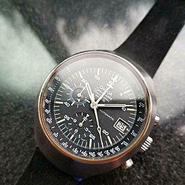 Mens Omega Speedmaster Mark III 41mm 1970s Automatic Chronograph LV297BLK