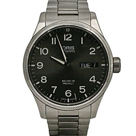 Oris Big Crown ProPilot Automatic Date 41,Steel, Slate grey dial, 75176974164M