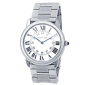Cartier Ronde Solo Stainless Steel Quartz Silver Ladies Watch W6701005