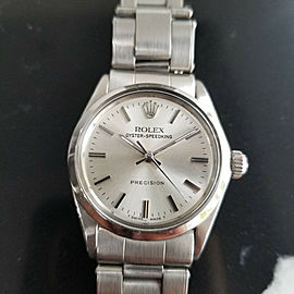 Midsize Rolex Oyster Precision 6430 Speedking 30mm Manual Wind, c.1960s LV684
