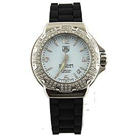 TAG HEUER FORMULA 1 WAC1215.BT0711 DIAMOND LADIES RUBBER SWISS QUARTZ WATCH
