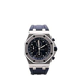 Audemars Piguet Royal Oak Offshore Chronograph 42 Blue Dial 26237ST.OO.1000ST.01