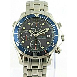OMEGA SEAMASTER PROFESSIONAL 2225.80 AUTOMATIC CHRONOGRAPH MENS WATCH PAPERS