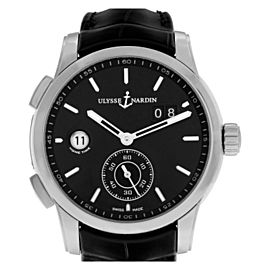 Ulysse Nardin Dual Time 3343126- Steel 42.0mm Watch