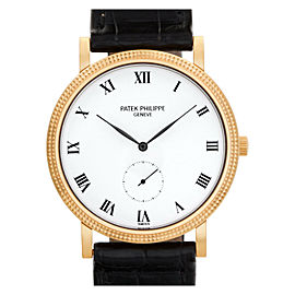 Patek Philippe Calatrava 3919R-00 Gold 33.0mm Watch