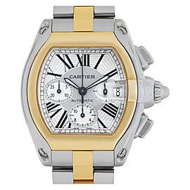 Cartier Roadster W62027Z1 Steel 43.0mm Watch