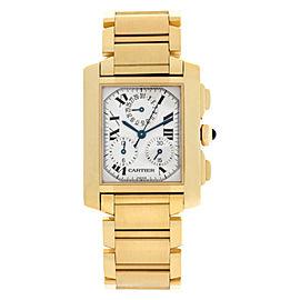 Cartier Tank Francaise W50005R2 Gold 28.0mm Watch