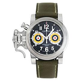 Graham Chronofighter 2OVAS.B0 Steel 40.0mm Watch