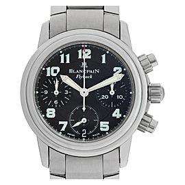 Blancpain Chronograph Flyback 2185F-11 Steel 32.0mm Women's Watch