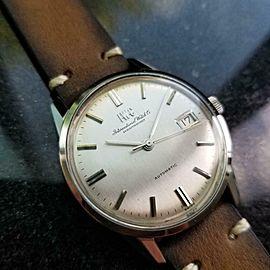 Mens IWC Schaffhausen Ref 810 35mm Date 1970s Automatic Vintage Watch LV880BRN