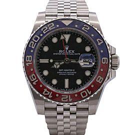 Men's Rolex GMT-Master II Pepsi, Stainless Steel, 40mm, Black dial, 126710BLRO
