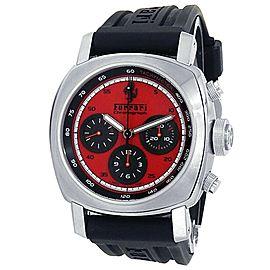 Panerai Ferrari Granturismo Stainless Steel Rubber Auto Red Men's Watch FER00013
