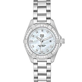 TAG Heuer Aquaracer Mother of Pearl Diamond Ladies Watch WBD1415