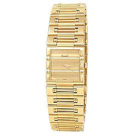 Piaget Dancer 18k Yellow Gold Quartz Champagne Ladies Watch 80317 K 81