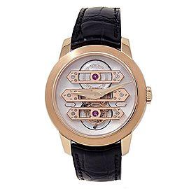 Girard Perregaux Tourbillon 18k Rose Gold Automatic Mens Watch 99193-52-002-BA6A