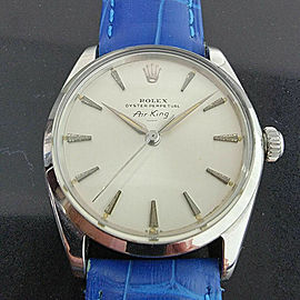 Mens Rolex Oyster Perpetual Air-King Ref 5500 34mm Automatic 1960s Swiss RA208